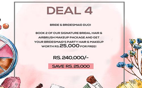 Bride & Bridesmaids Duo!